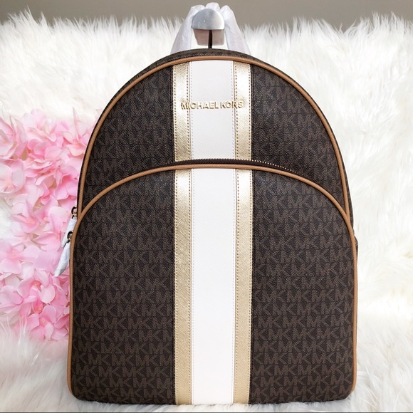 bd0914f0c029 Michael Kors Bags | Nwt Abbey Large Backpack | Poshmark